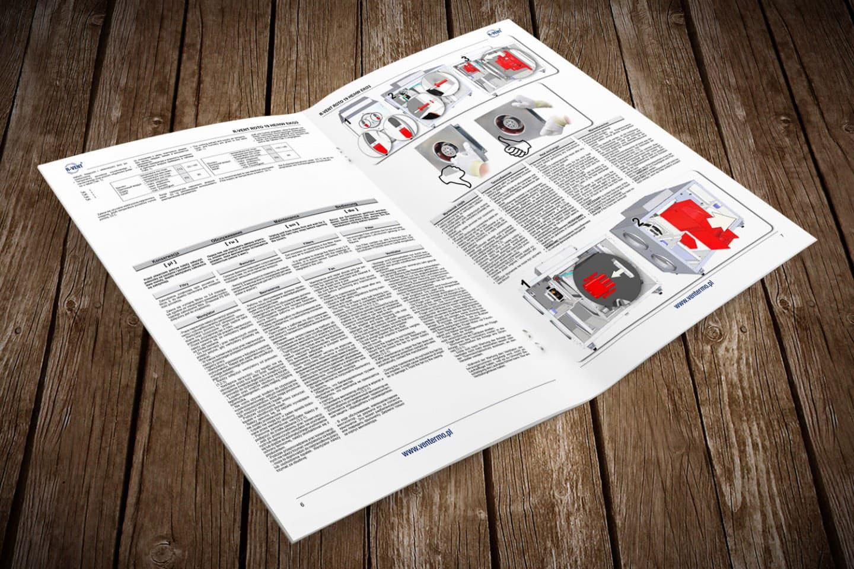 instrukcje obsługi rekuperatorów
