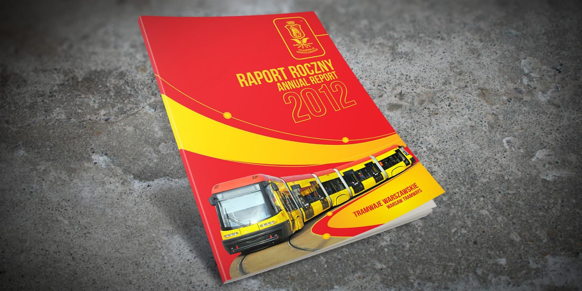 raport roczny tramwaje warszawskie