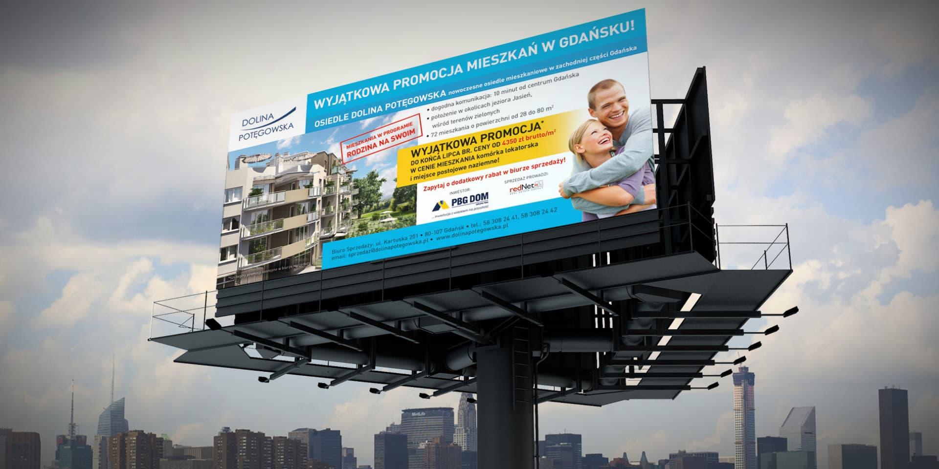 dolina potegowska kampania reklamowa