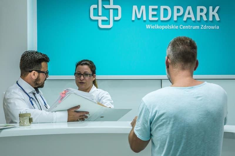 fotografia wnętrz - klinika MedPark