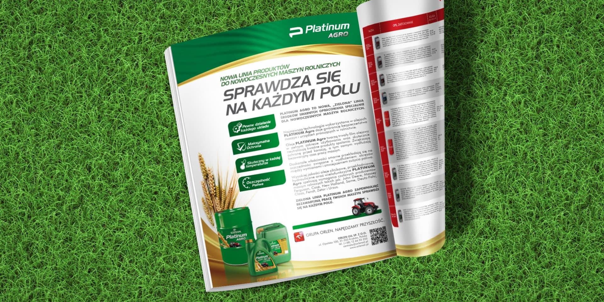reklama prasowa Orlen Agro