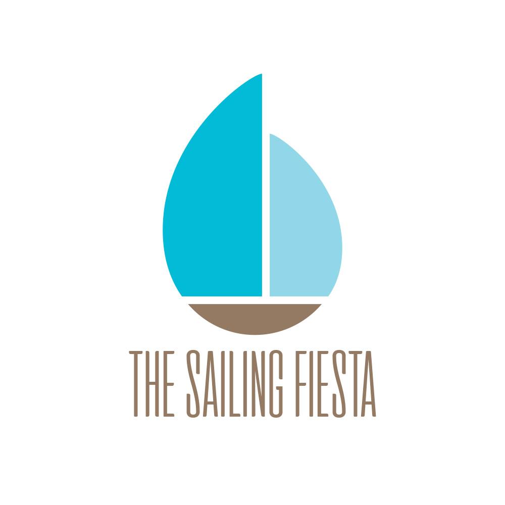 Projekt logo dla marki organizującej rejsy morskie pod żaglami