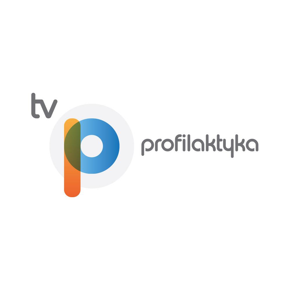 Projekt logo kanału YouTube: Profilaktyka TV