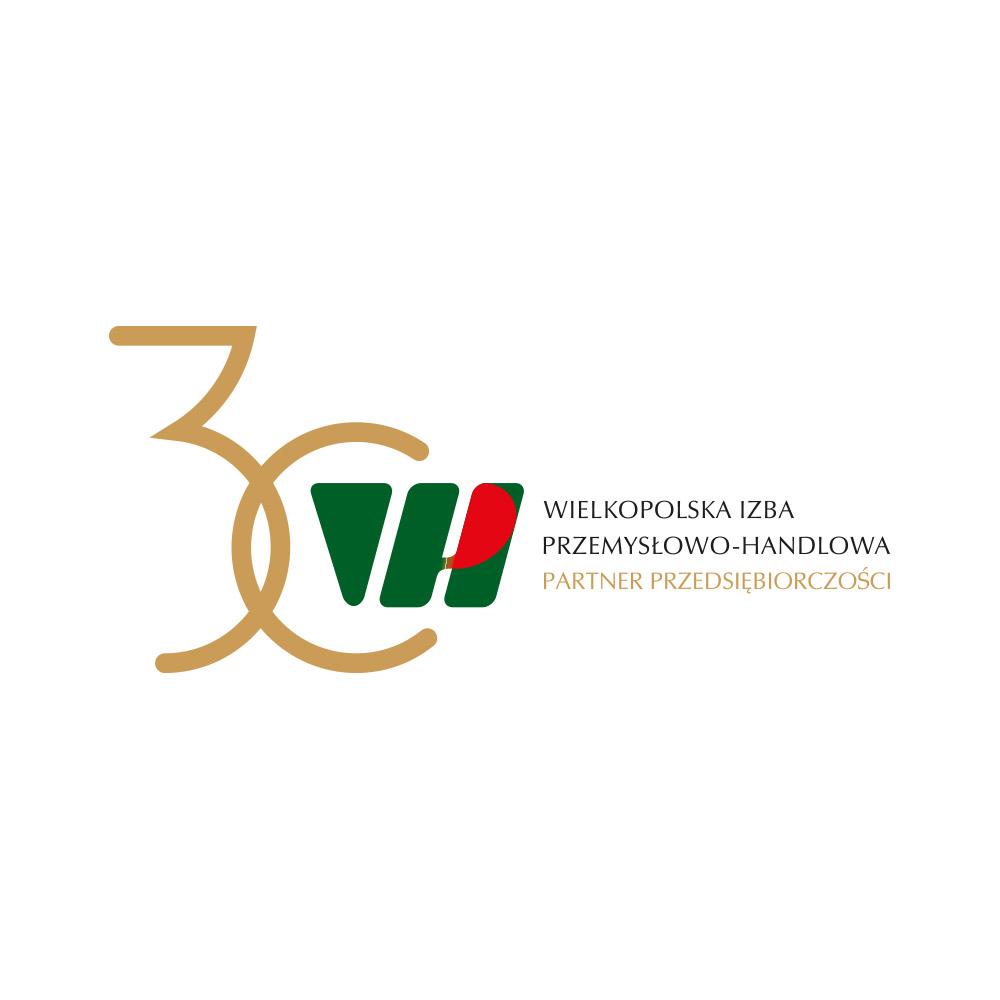 Projekt rocznicowego logo dla Wielkopolskiej Izby Przemysłowo-Handlowej
