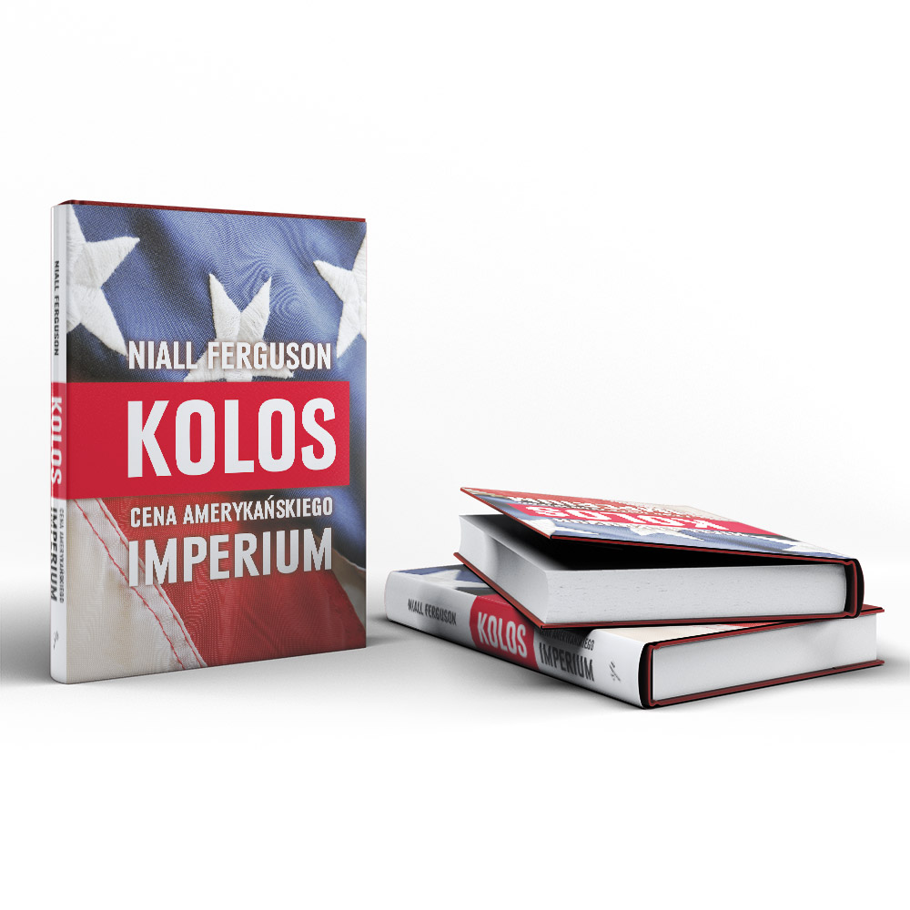 """Projekt książki """"Kolos. Cena Amerykańskiego Imperium"""" oraz jej skład"""